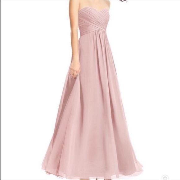 Azazie Dresses & Skirts - Dusty Rose Azazie Bridesmaid Dress - size 2